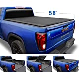 """Tyger Auto T3 Soft Tri-Fold Truck Bed Tonneau Cover Compatible with 2019-2021 Chevy Silverado/GMC Sierra 1500 New Body 