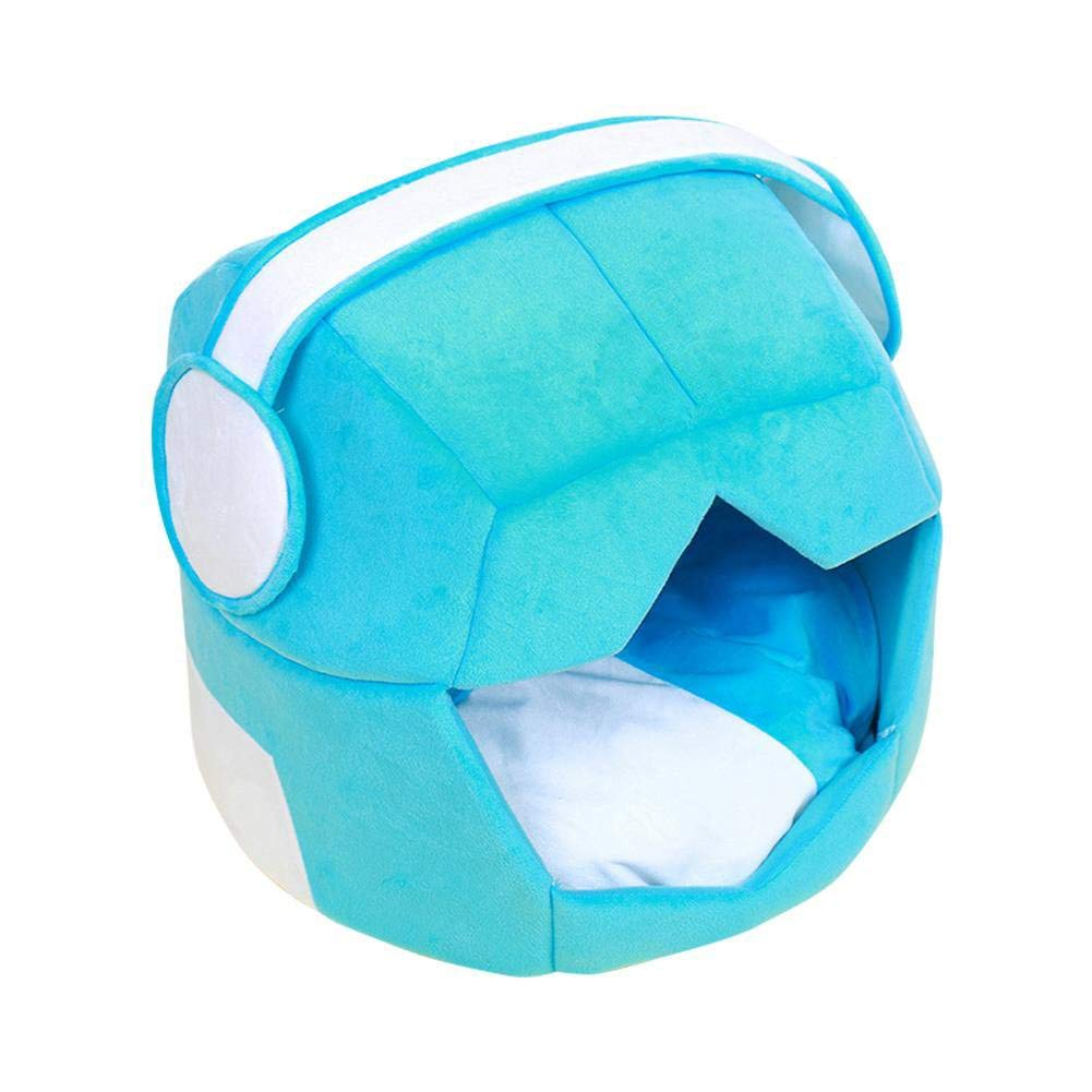 bluee LargePet Sofa Pet Innovative DualUse Nest Comfortable Soft Breathable Kennel Oxford Fabric Waterproof NonSlip Cat Mat Collapsible Not Easily Deformed Four Seasons Universal Puppy House Removable Cleanabl
