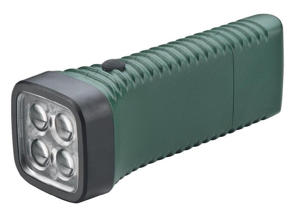 Akku-Taschenlampe Multi LED [AccuLux 413262] Vier linsenfokussierte weiße LED