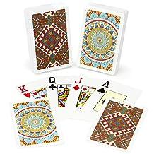 Copag GCOP-1101 Neo Culture 100-Percent Plastic Playing Cards, Bridge Size, Jumbo Index