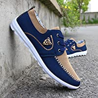 New Casual Sneakers For Men Comfortable Mens Shoes Brown 9.5
