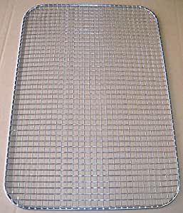 "Grid, Drain, Dry, Filter, 15""x10"", Stainless Steel, 5003273"