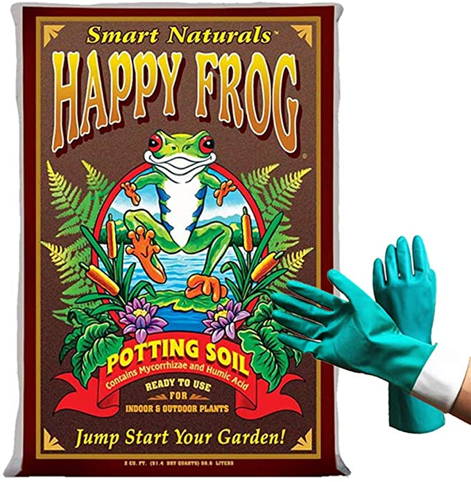 Fox Farm Happy Frog Potting Soil Mix - Soil Microbes
