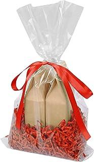 Amazon.com: APQ Pack de 100 bolsas de polipropileno ...