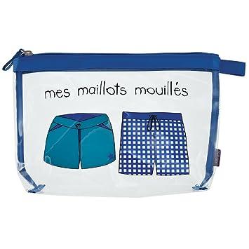 Mouillés Bleu Maillots Transparent Pvc À Incidence Homme Zip31 61973 Mes Et Paris Cm Trousse Nylon De Krystal Maillot Bain Fermeture SzVpqUMLG