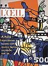 OEIL (L') N° 500 du 01-10-1998 PARIS - ANISH KAPOOR - LORENZO LOTTO - GUSTAVE MOREAU - LES BATEKE - FIAC 98 - H. EDMOND CROSS par L'Oeil