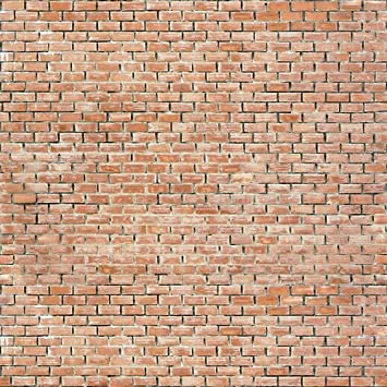 Brick Wallpaper Wall Decals   Brickwall Red   4 FT X 4 FT Removable Graphic Part 53