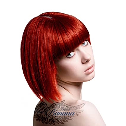 TINTE COLOR FANTASIA STARGAZER SIN AMONIACO PROFESIONAL COLOR FOXY RED 70ML + INCLUYE GUANTES