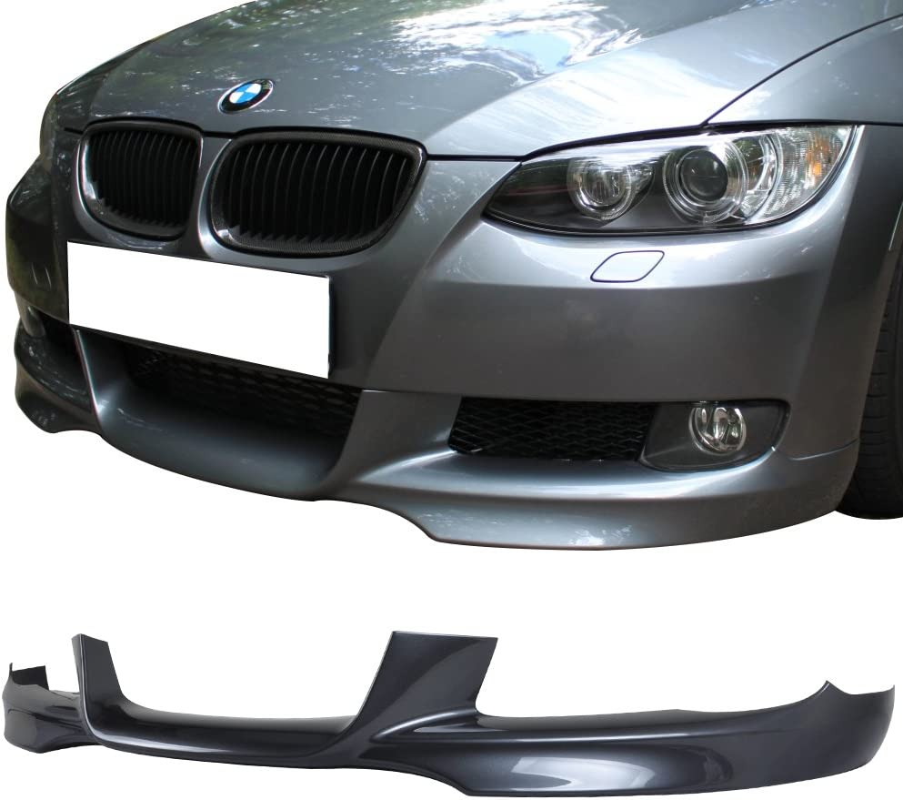 2006-2008 For 3Series E90 PP Front Splitter Painted #A22 Sparkling Graphite
