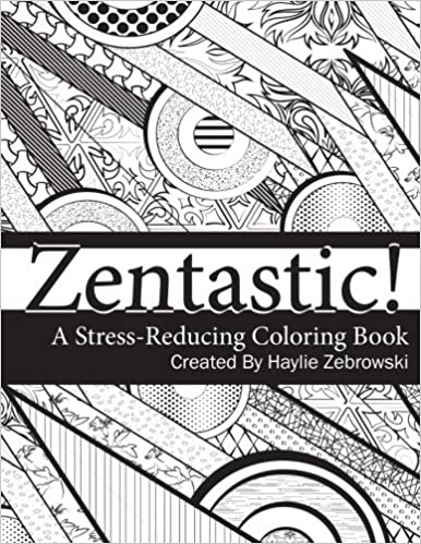 A Stress Reducing Coloring Book: Haylie Zebrowski, Susan L. Harrington:  9781519338013: Amazon.com: Books