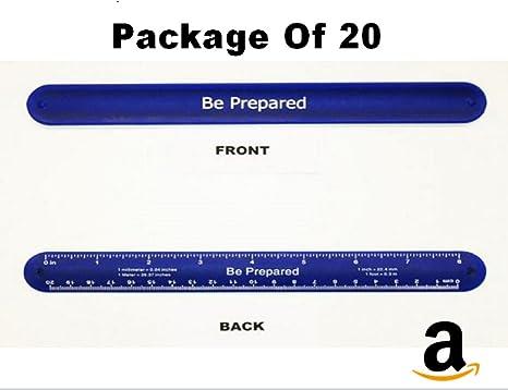 Amazon com: Aquinas Eagle Cub Scout Blue Slap Bands Pack of 20: Toys