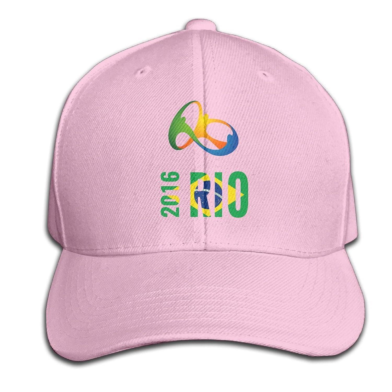 AGMPO Unisex 2016 Brazil Rio De Janeiro Olympic Games Peaked Baseball Cap Hats
