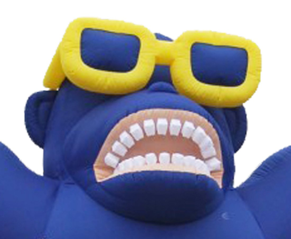 LookOurWay Giant Inflatable Advertising 20ft Tall Blue Sale Gorilla by LookOurWay (Image #2)