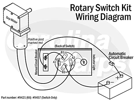 [SCHEMATICS_4NL]  Amazon.com: Carolina Tarps Replacement Rotary Switch for 50 Amp Rotary  Switch Kits: Industrial & Scientific | Reverable Tarp Switch Wiring Diagram |  | Amazon.com