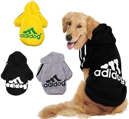Pet Puppy Cute Cotton Warm Hoodies T-Shirt, Taglia S 9XL e Ampia Scelta di Colori KayMayn Adidog Cane Felpe Cotone Dog Hoodies Vestiti