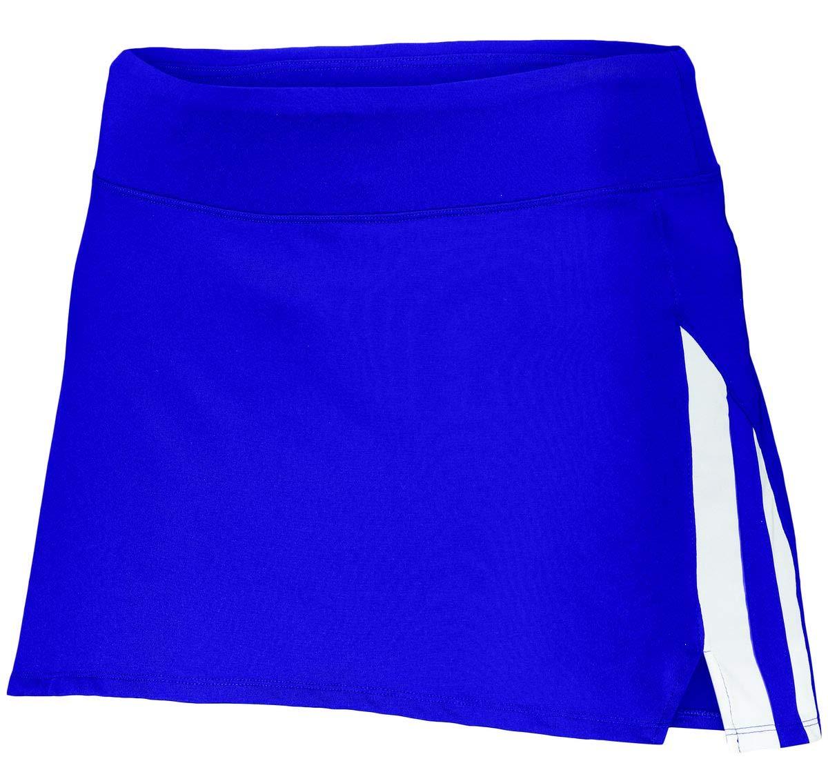 Augusta Sportswear Girls Full Force Skort L Purple/White by Augusta Sportswear
