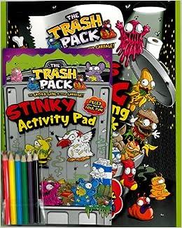 Trash Pack Jumbo Activity Pack (Parragon): Amazon.es: Moose Toys ...