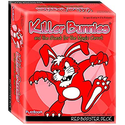 Playroom Entertainment Killer Bunnies Red Booster: Toys & Games