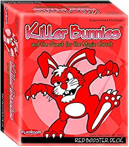 Killer Bunnies Quest Red Booster Card Game