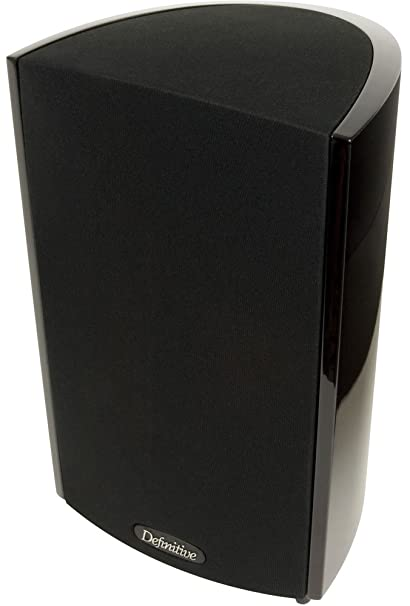 Definitive Technology ProMonitor 1000 Bookshelf Speaker Single Black