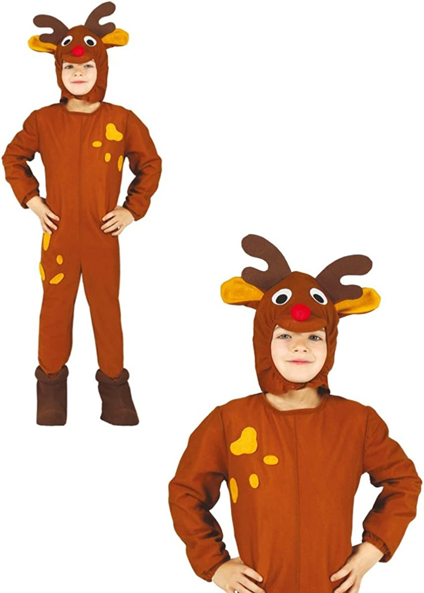 Disfraz de reno infantil 10-12 años