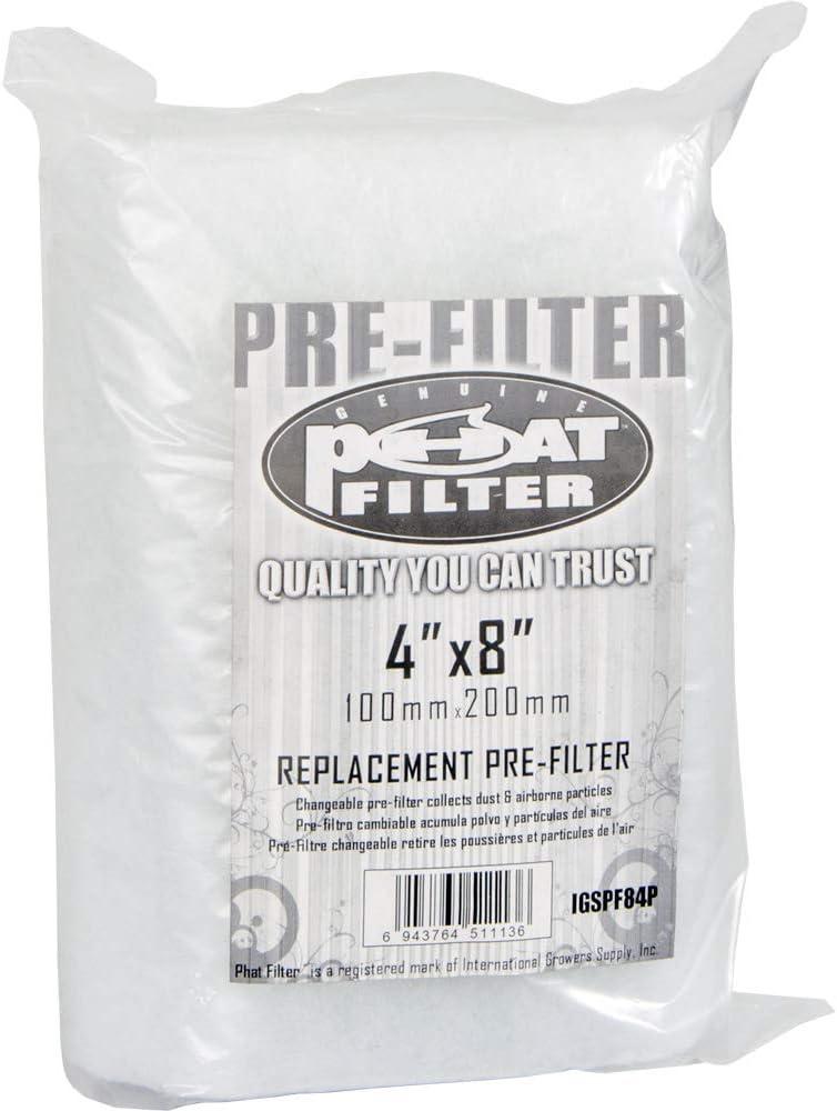 6 x 13 Mini Muffler 6 x 13 inches Silver Phat IGSPM136