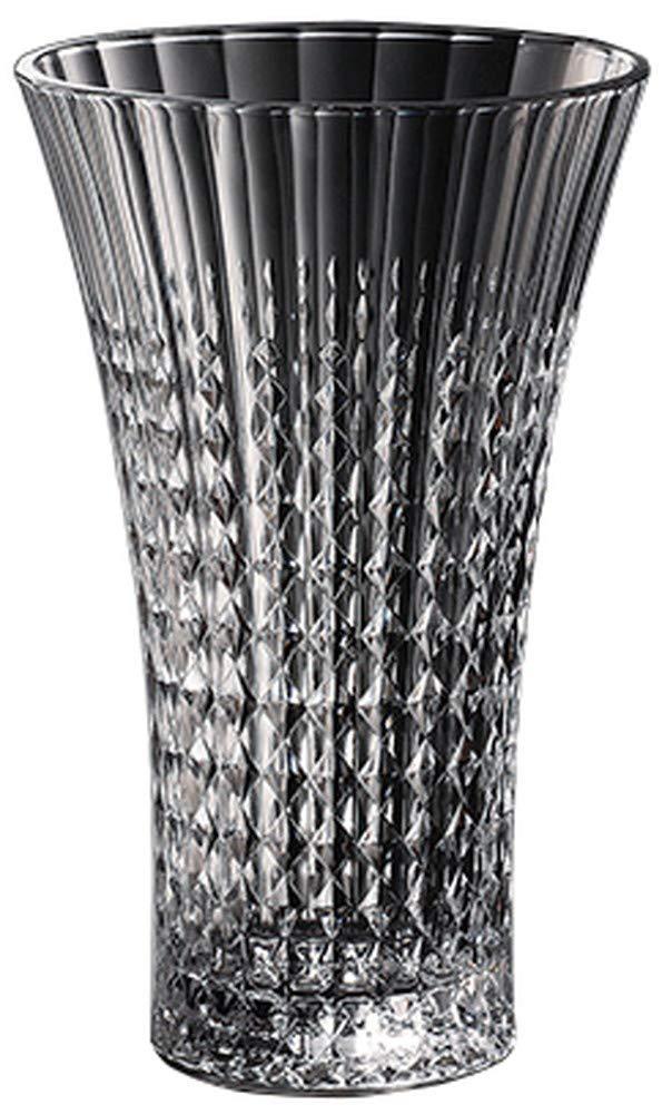 Arc International(アルクインターナショナル) レディーダイヤモンド フラワーベース27 [ Φ170 x H265mm ] 【 ベース 】| ホテル レストラン インテリア 花器 ガラス 業務用 B07QNHGCB7