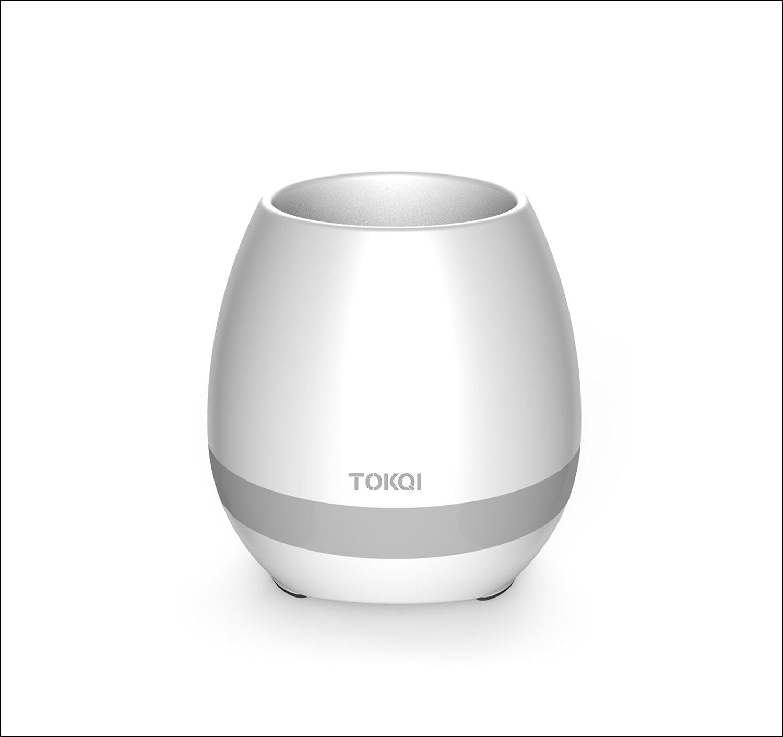 【一部予約!】 (White) - FENGRUI Smart White FENGRUI LED Music Flowerpot Bluetooth Wireless Speakers Touch Plant Piano-Playing Multi-colour LED Light Great for Office Home Decor(White) B07519J4D3 White, プチブティック アップル 子供服:9cc00d61 --- arcego.dominiotemporario.com