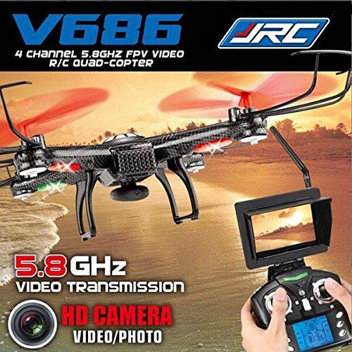 JJRC V686 FPV Drone 2.4G 4CH 5.8G FPV RC Quadcopter With 720P HD Camera RTF VS JJRC CX-30 WLToys (Ratchet Costume)