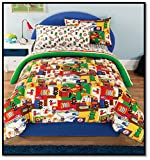 Kidz Mix Bed in a Bag Comforter Set, Full, Multicolor