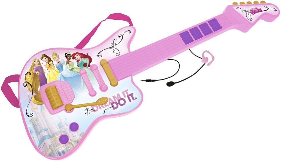 CLAUDIO REIG- Princesas Disney Guitarra (5296.0): Amazon.es: Juguetes y juegos