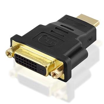DVI Y-Adapter DVI Stecker 24+1 auf 2x DVI Buchse 24+1 Verteiler Splitter Weiche