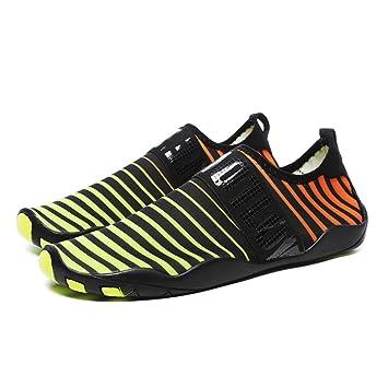 Zapatos De Natación Parte Superior De Tela Elástica + Suela De Goma Antideslizante Unisexo Zapatos De