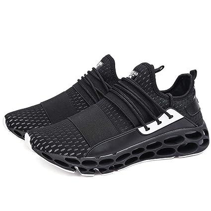 88d705fe41e8c Amazon.com: HRN Men's Running Shoes, mesh Flying Woven Breathable ...