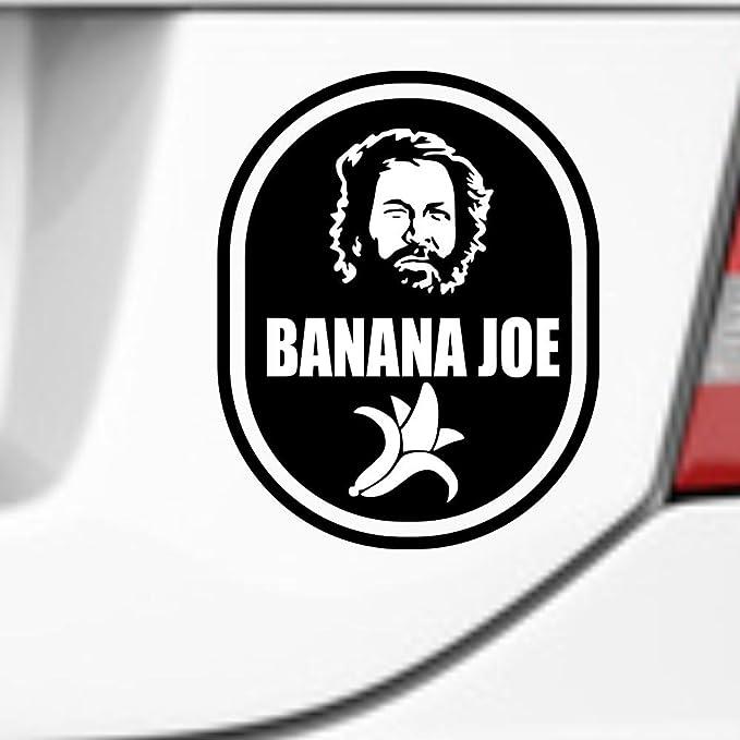 Supersticki Banana Joe Bud Spencer 20 Cm Aufkleber Autoaufkleber Sticker Tuning Vinyl Uv Waschanlagenfest Tuningsticker Auto