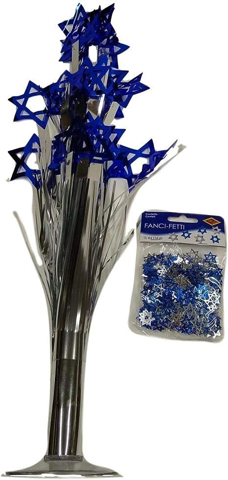 Hanukkah - Juego de decoración de mesa con confeti, diseño de ...