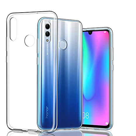Hianjoo Compatible para Funda Huawei P Smart 2019, Suave y Flexible TPU Silicona Carcasa Parachoques Protectora para Huawei P Smart 2019 / Honor 10 ...