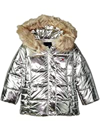 Girls' Peacoat Puffer Jacket