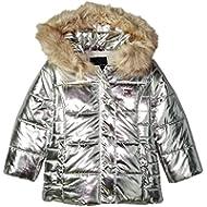 Tommy Hilfiger Girls' Peacoat Puffer Jacket