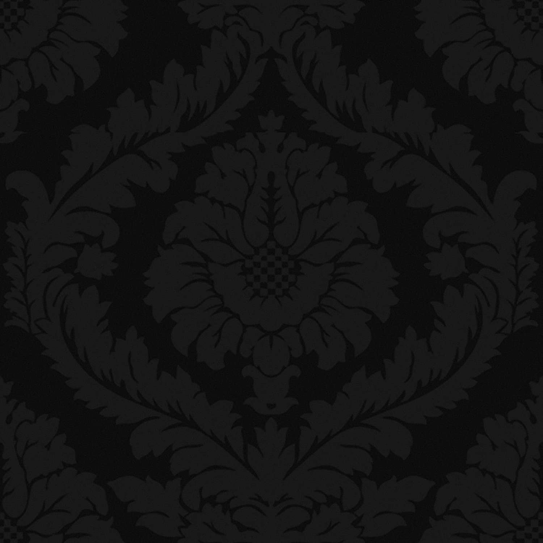 Papier Peint Intiss/é Luxe Barock Noir Graham /& Brown Superfresco Easy 10m x 52cm