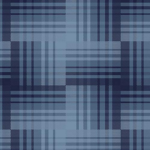 - Marcus Fabrics Primo Plaid Flannel Blue Woven Patches