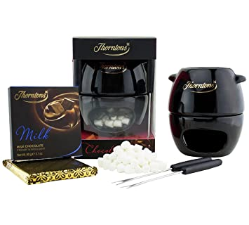 Thorntons Chocolate Sharing Fondue Gift Set Non Electric