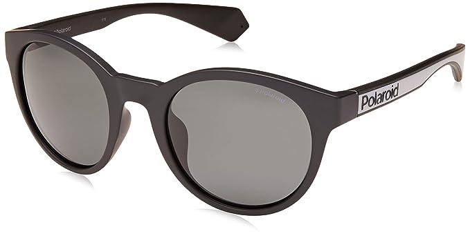 d83d98fd1b8 Amazon.com  Polaroid PLD 6063 G S Unisex Round Sunglasses