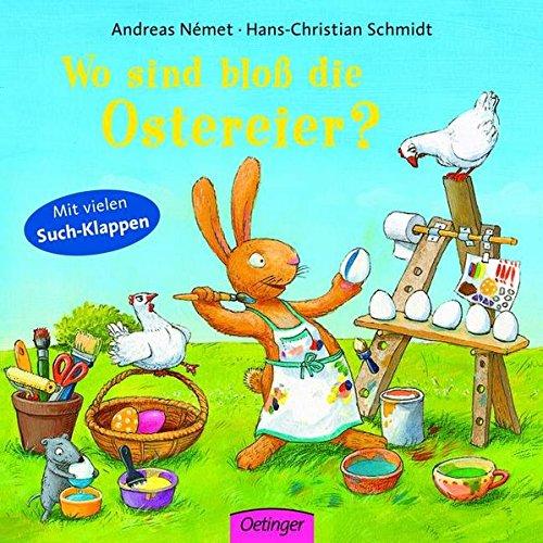 Wo sind bloß die Ostereier?