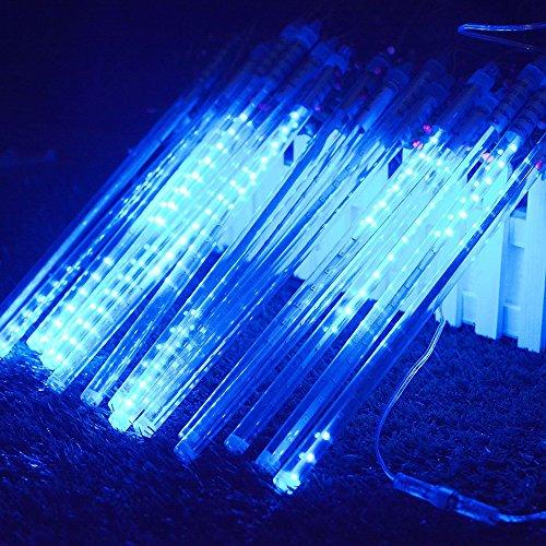 360 Led Blue Icicle Light Set in US - 6