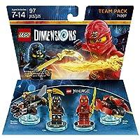 Paquete de Equipo Ninjago - Dimensiones LEGO