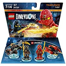 Ninjago Team Pack Kai & Cole - LEGO Dimensions - Standard Edition
