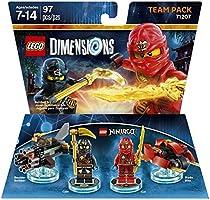 Ninjago Team Pack Kai & Cole - LEGO Dimensions - Standard Edition