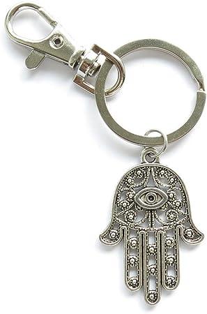 Hamsa Keychain Variation 2 Chakra Keychain Keychain