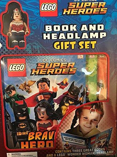Price comparison product image DC Comics Superheroes Wonder Woman Mini Figure ,  Book and Headlamp Gift Set